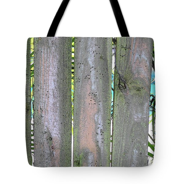 Fence South Tote Bag