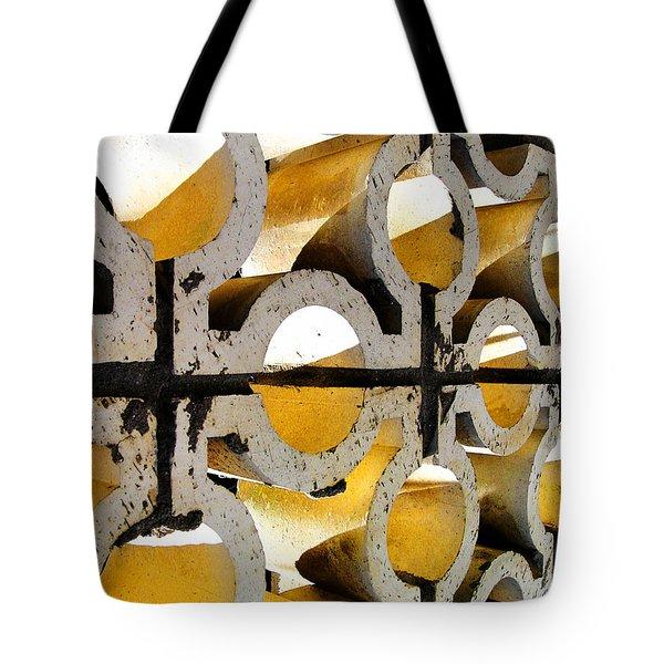 Human Fences Tote Bag