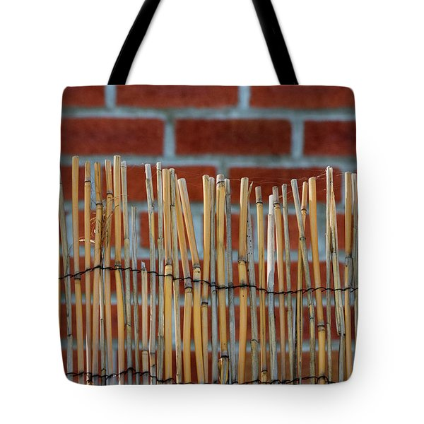 Fencing In The Wall Tote Bag