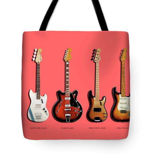 Fender Guitar Collection Tote Bag