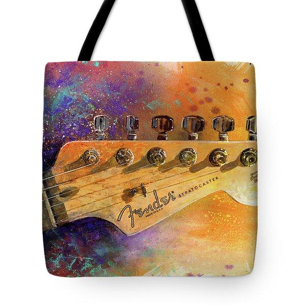 Fender Head Tote Bag