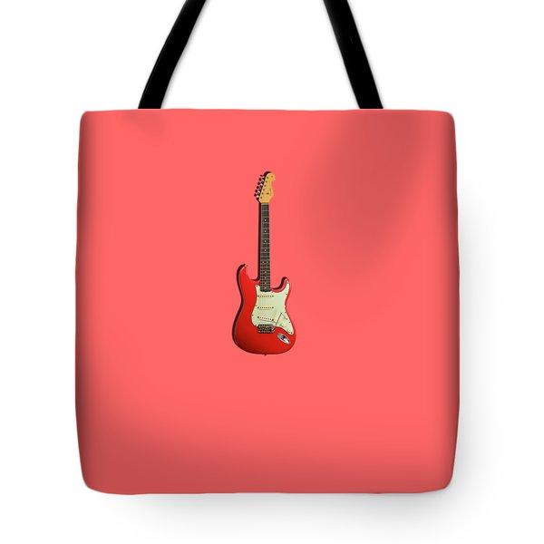 Fender Stratocaster 63 Tote Bag by Mark Rogan