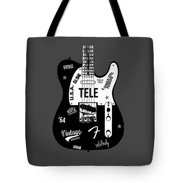 Fender Telecaster 64 Tote Bag