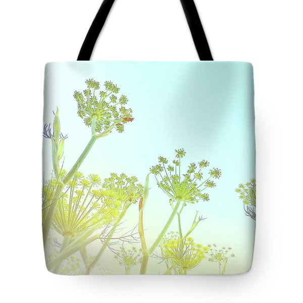 Tote Bag featuring the photograph Fennel As High As An Elephant's Eye by Cindy Garber Iverson