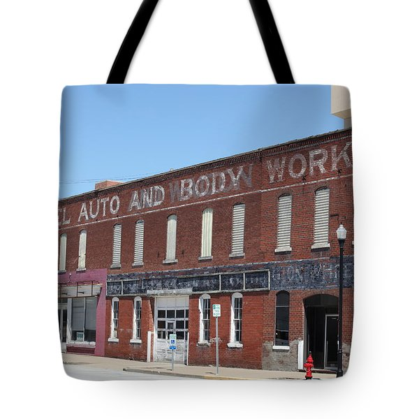 Fennel Auto And Body Works Tote Bag