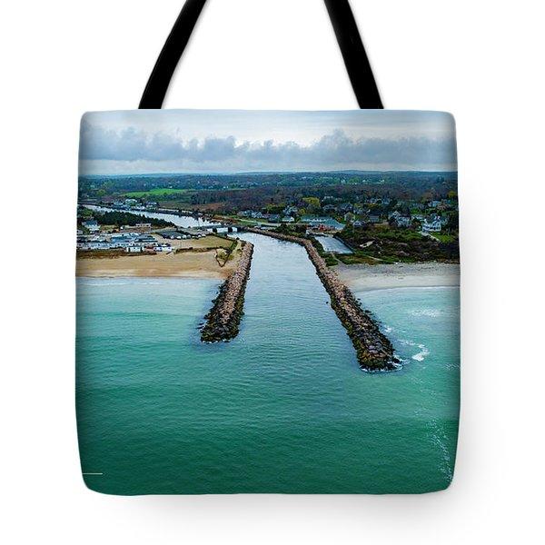 Fenway Beach Breakwater Tote Bag
