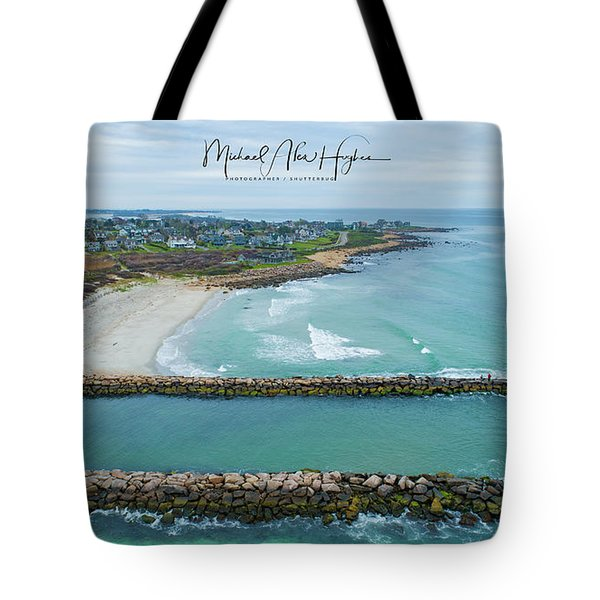 Fenway Beach, Weekapaug Tote Bag