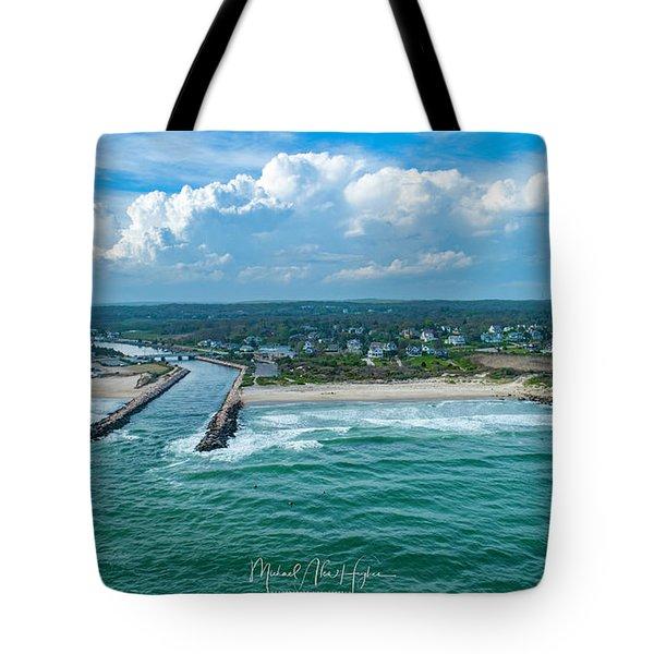 Fenway Beach, Weekapaug,ri Tote Bag