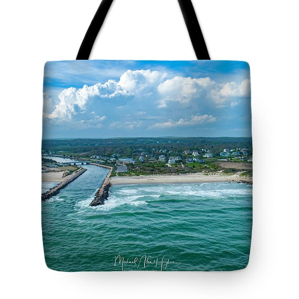 Fenway Beach, Weekapaug,ri Tote Bag