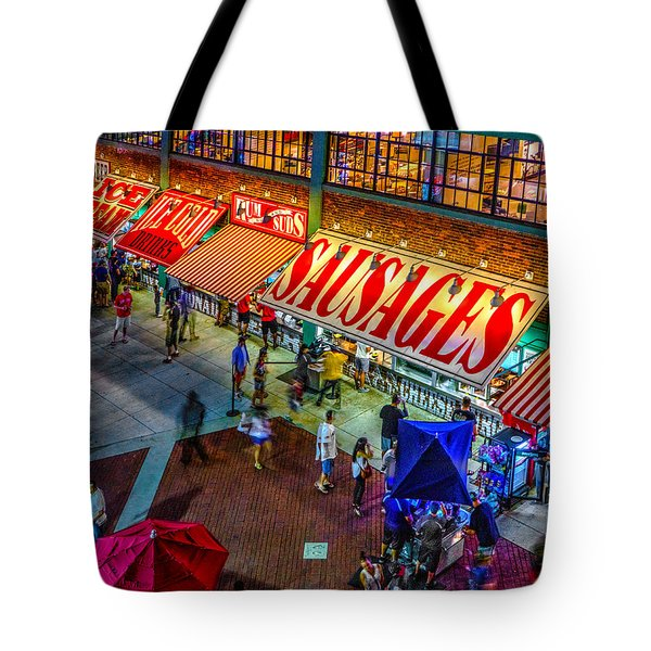 Fenway Food Court 3845 Tote Bag