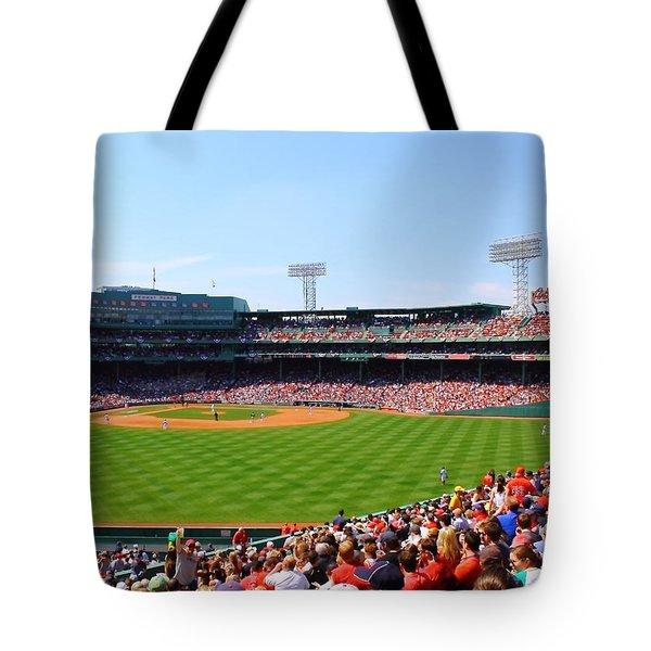 Fenway Tote Bag by Jeff Heimlich