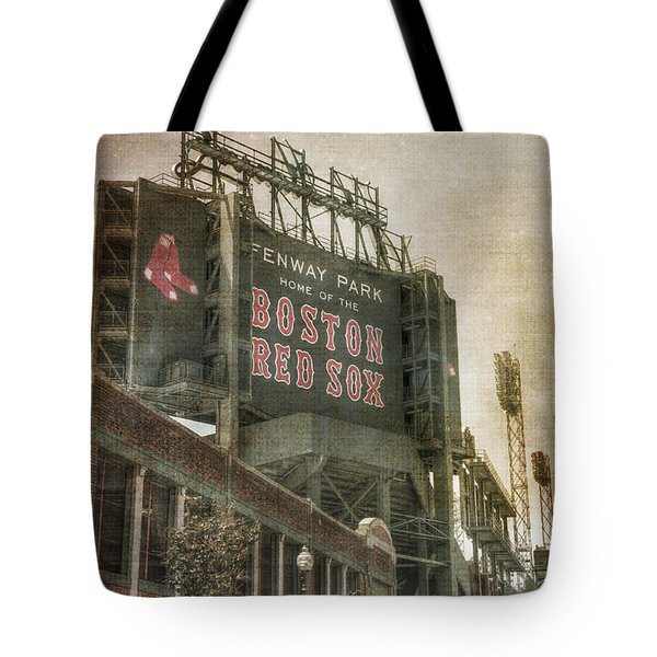 Fenway Park Billboard - Boston Red Sox Tote Bag