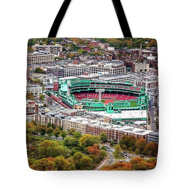 Fenway Park  Boston Red Sox Tote Bag