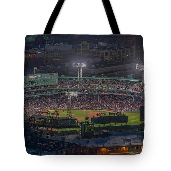 Fenway Park Tote Bag by Bryan Xavier