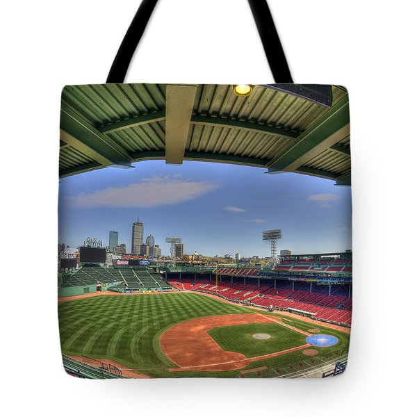 Fenway Park Interior  Tote Bag by Joann Vitali