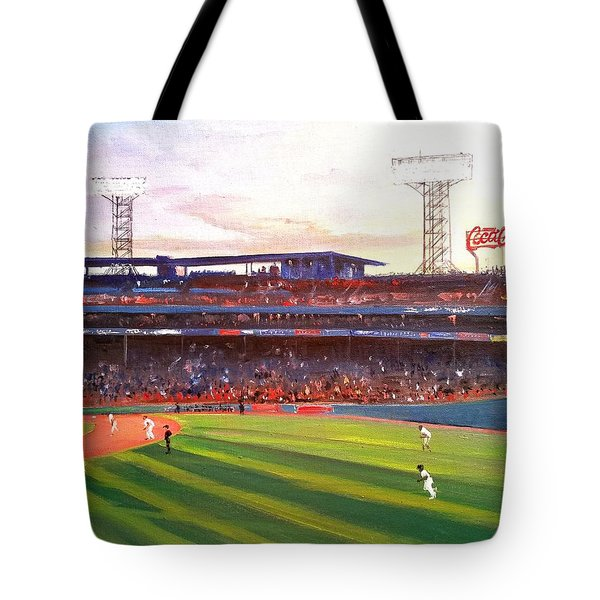 Fenway Park Tote Bag by Rose Wang
