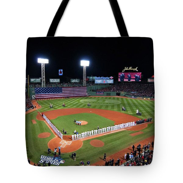 Fenway Park World Series 2013 Tote Bag