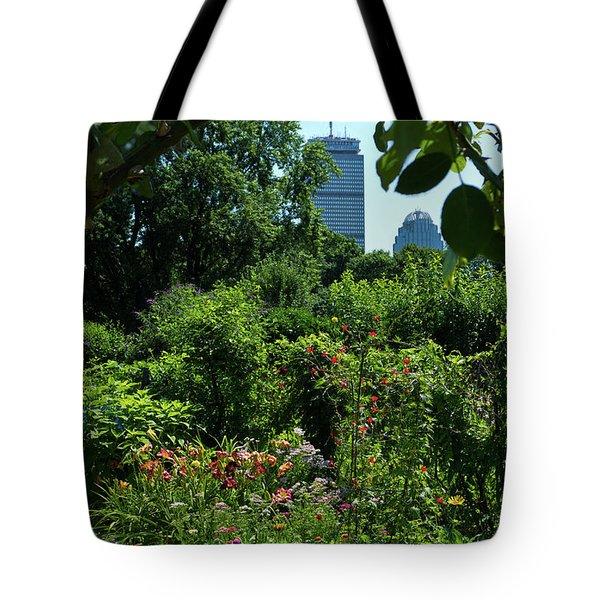 Fenway Victory Gardens In Boston Massachusetts  -30951-30952 Tote Bag