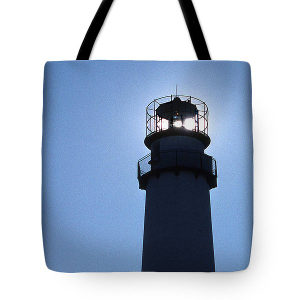 Fenwick Island Lighthouse Tote Bag by Skip Willits