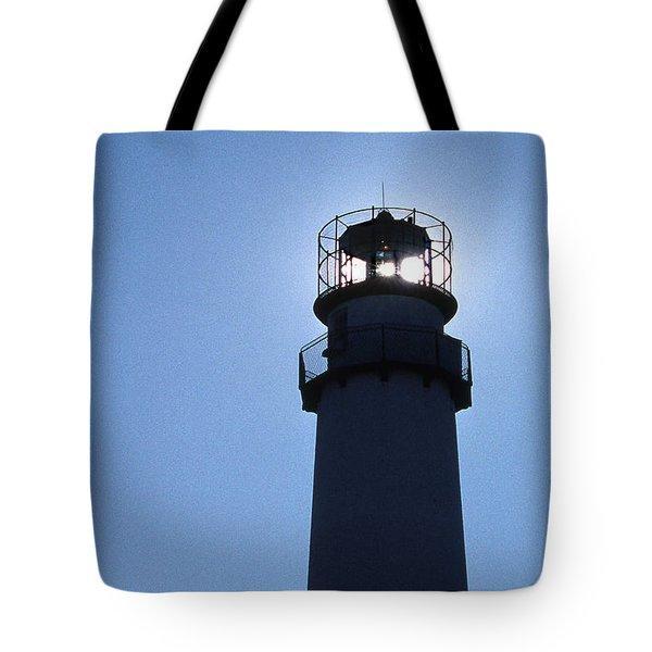 Fenwick Island Lighthouse Tote Bag by Skip Willits