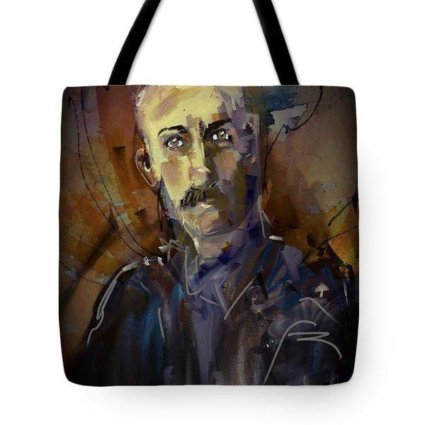 Tote Bag featuring the digital art Ferdinand by Jim Vance