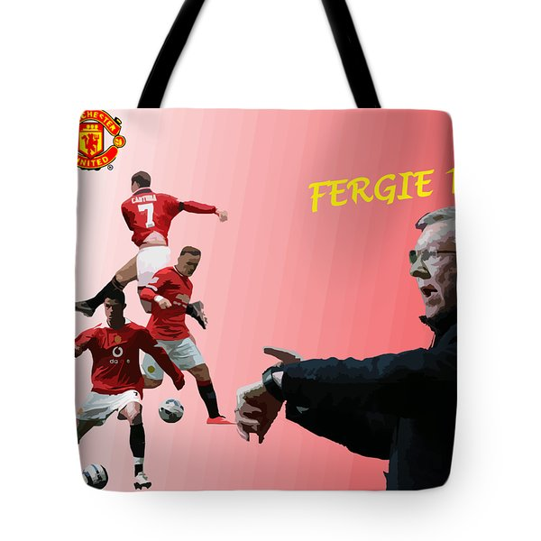 Fergie Time Tote Bag