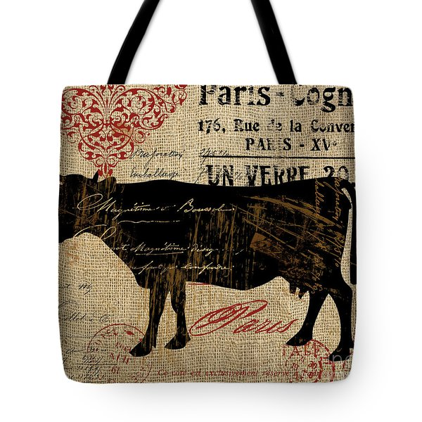 Ferme Farm Cow Tote Bag