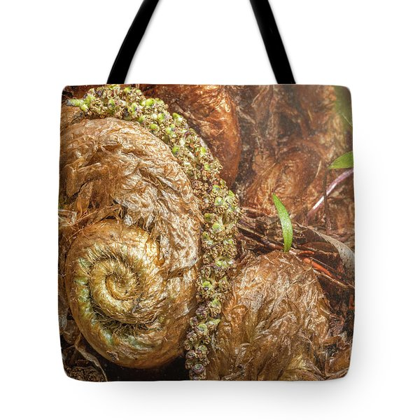 Fern Headdress Tote Bag