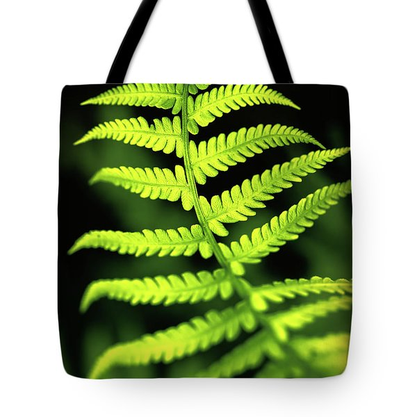 Fern Leaf Tote Bag