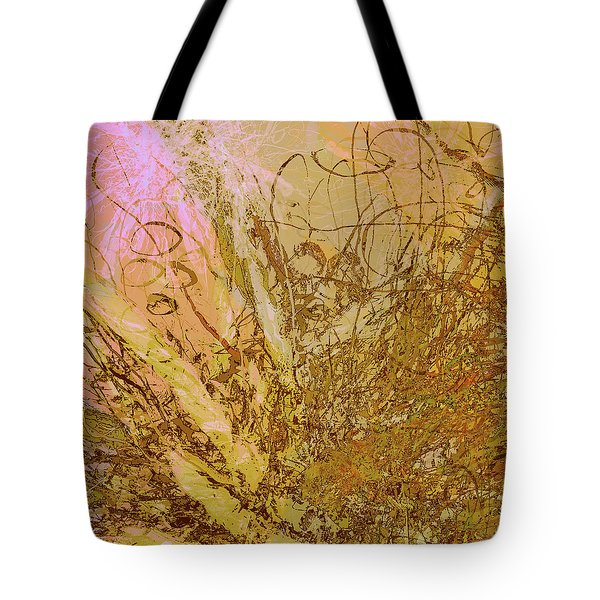 Fern Series 32 Bubbles Rise Tote Bag