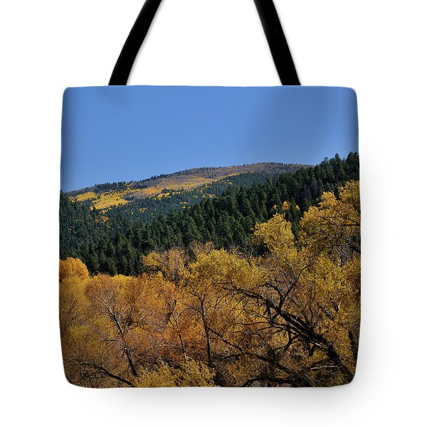 Tote Bag featuring the photograph Fernando Peak by Ron Cline