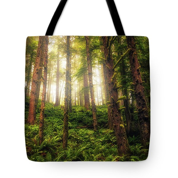 Tote Bag featuring the photograph Ferngully by Rick Furmanek