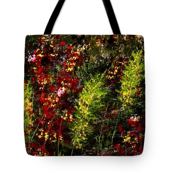 Ferns And Berries Tote Bag