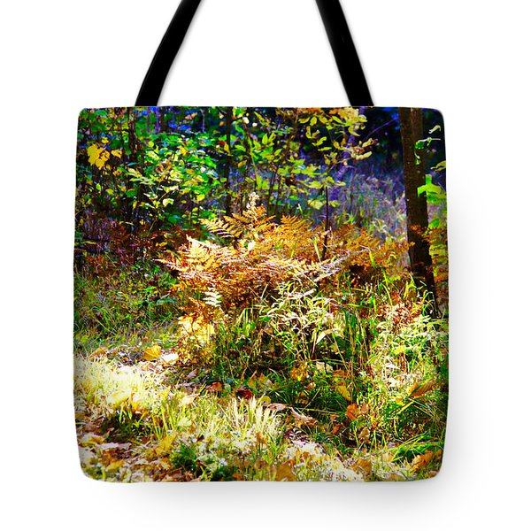 Tote Bag featuring the photograph Ferns by Susan Crossman Buscho