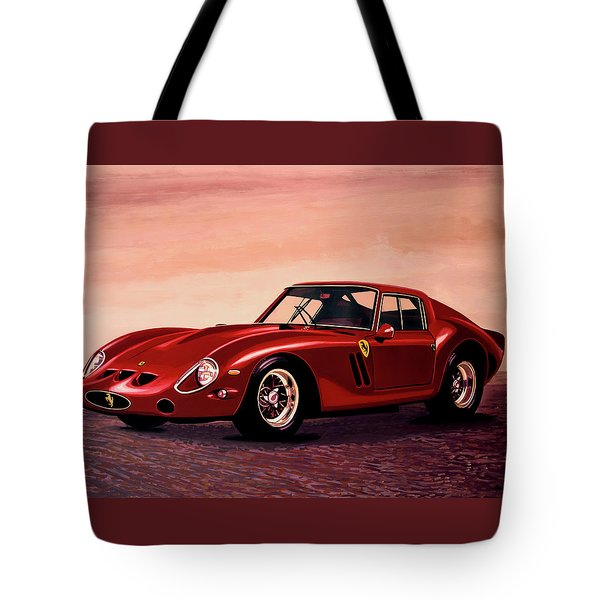 Ferrari 250 Gto 1962 Painting Tote Bag by Paul Meijering