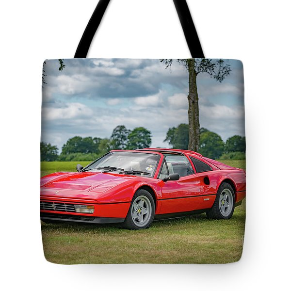 Tote Bag featuring the photograph Ferrari 328 Gts by Adrian Evans