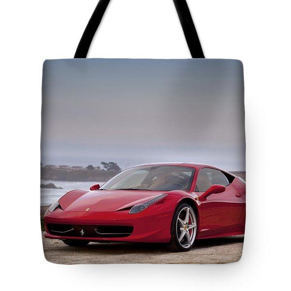 Ferrari 458 Italia Tote Bag