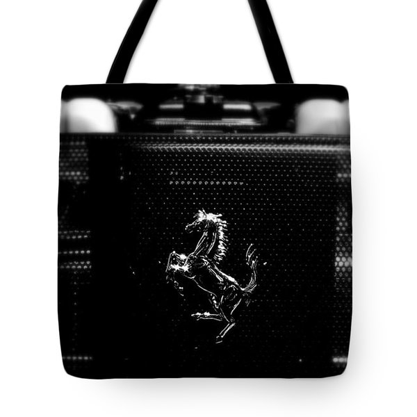 Ferrari Engine Grill Tote Bag