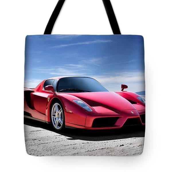 Ferrari Enzo Tote Bag by Douglas Pittman