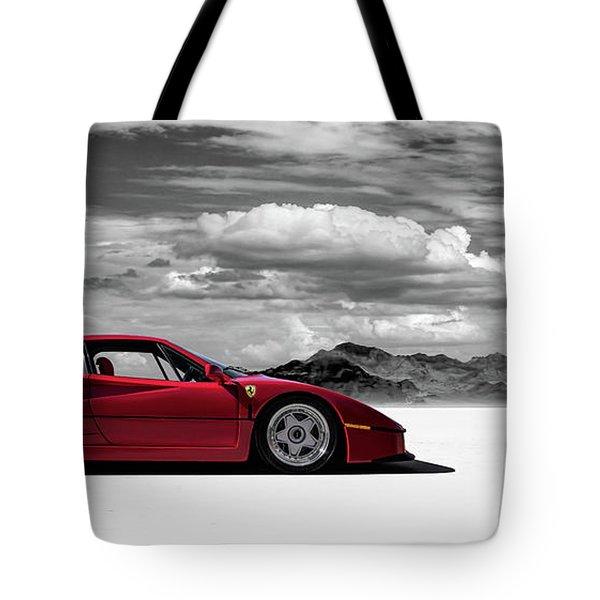 Ferrari F40 Tote Bag