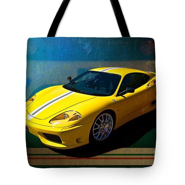 Ferrari F430 Tote Bag
