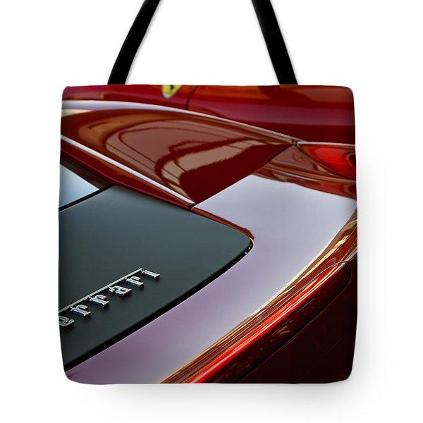 Ferrari Italia Tote Bag