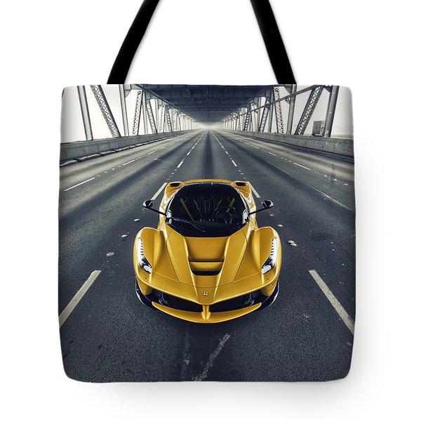 Ferrari Laferrari Tote Bag