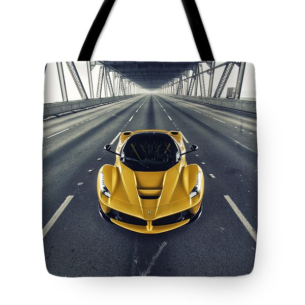 Ferrari Laferrari Tote Bag