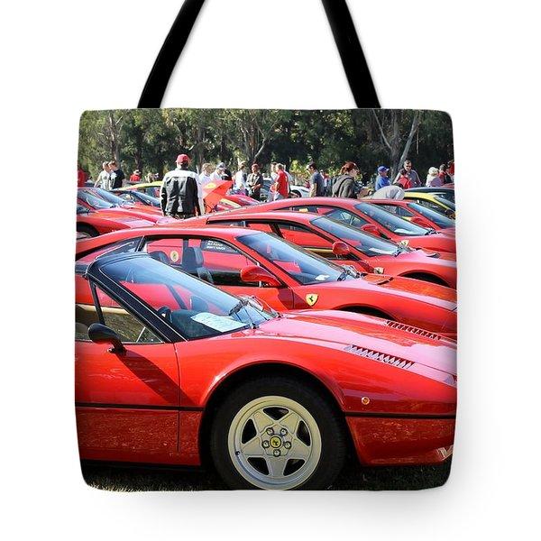 Ferrari Line Up Tote Bag