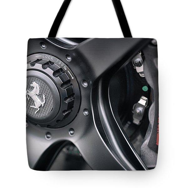 #ferrari #print Tote Bag