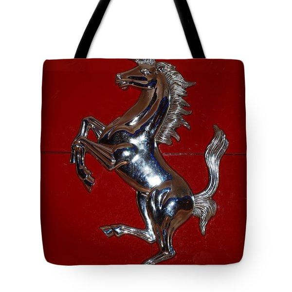 Ferrari Stallion Tote Bag by Rob Hans