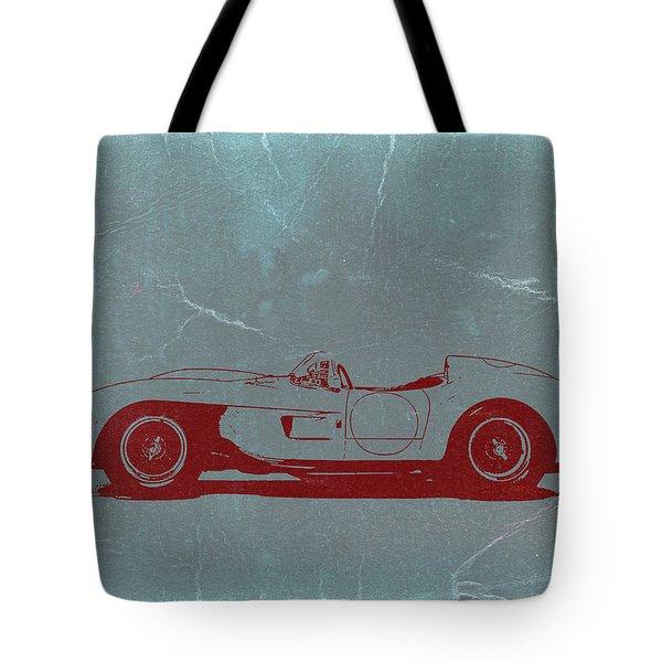Ferrari Testa Rosa Tote Bag by Naxart Studio