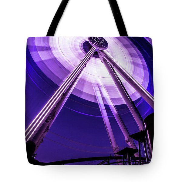 Ferris Wheel At Centennial Park 3 Tote Bag