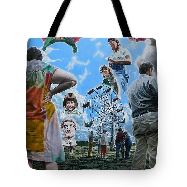 Ferris Wheel Tote Bag by Dave Martsolf